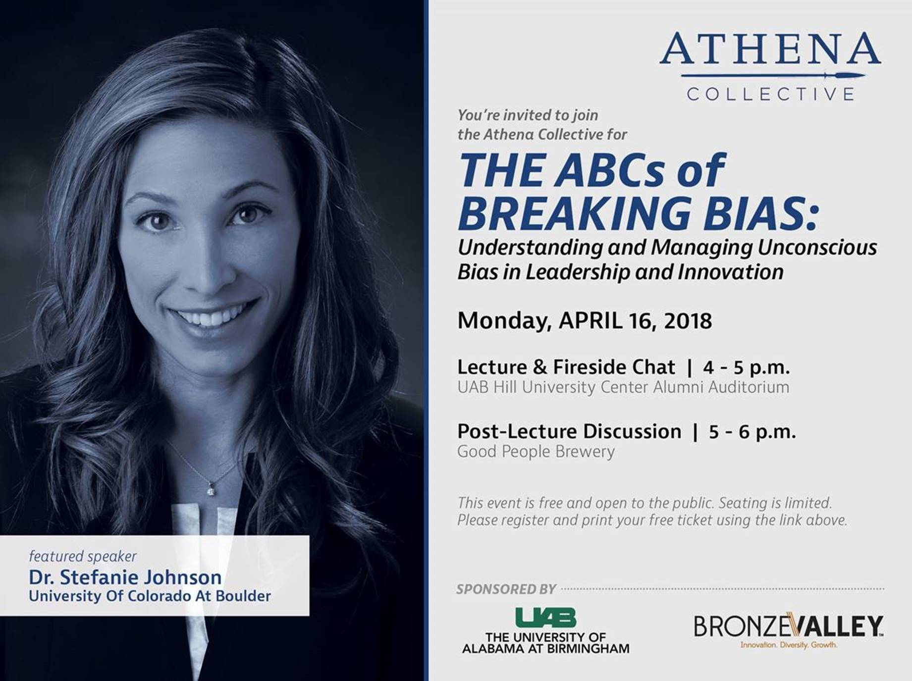 'Breaking Bias' improves organizational performance, says featured speaker at Birmingham event